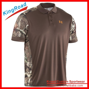Wholesale cheap 100 polyester army polo shirts for men for Where to buy polo shirts cheap