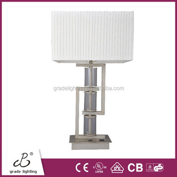 Ce Ul Cul Approved Hotel Table Lamp With Convenience Power