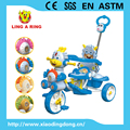 Cheap baby trike new models with music and lighting head Old fashioned baby tricycle with roof Tricycle for baby