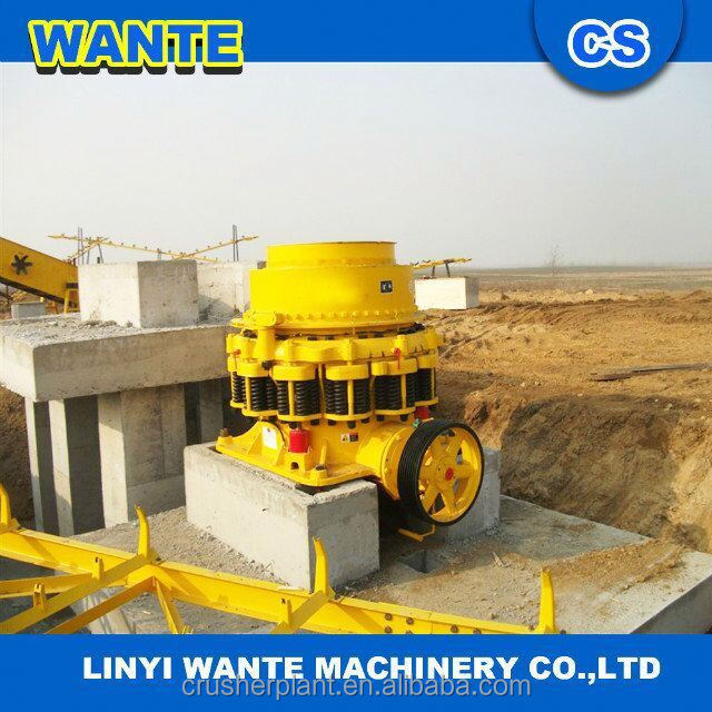 Low maintenance costs cone crusher for iron ore with less wear-resistant parts