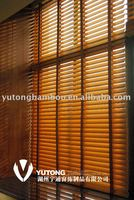 Indoor natural colour bamboo window shade & curtain