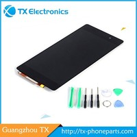 Wholesale touch screen digitizer replacement assembly parts display original lcd for sony xperia tipo st21i