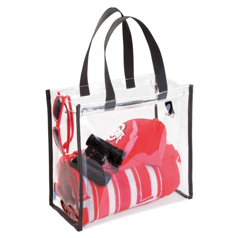 Su ordinazione di Plastica Trasparente Cosmetico di Cortesia Spiaggia Trasparente Shopping Tote Sacchetto Del PVC con la Chiusura Lampo