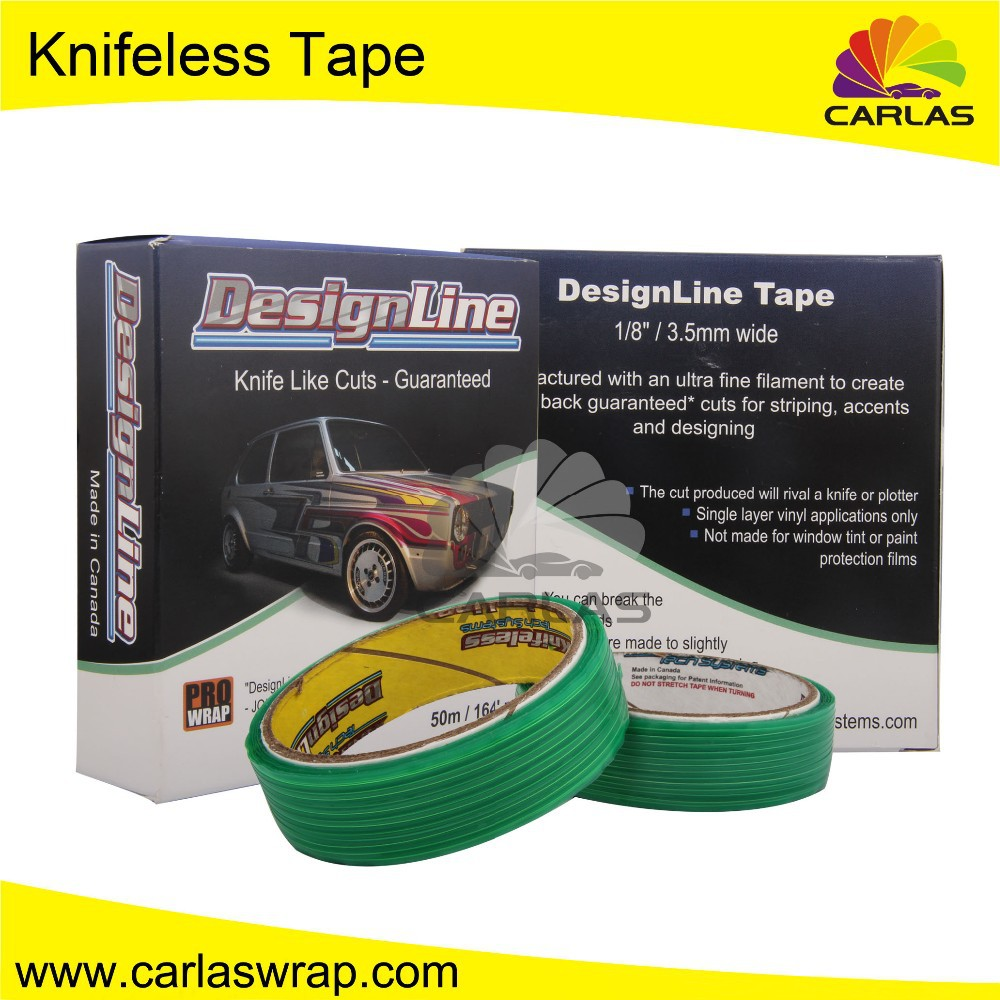 Car stickers Tools of vinyl wrap Vehicle Knifeless Tape