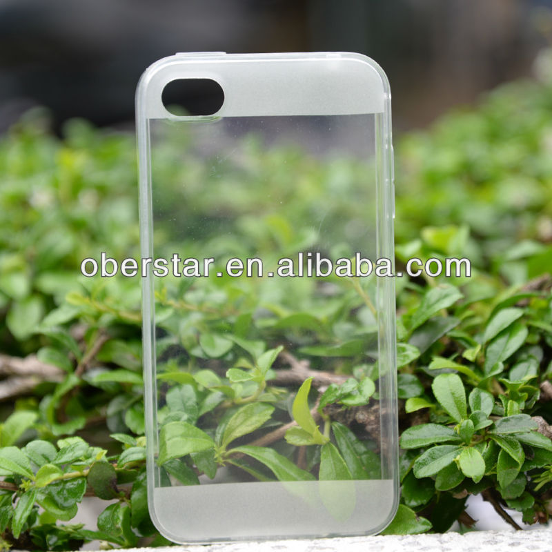 TPU GEL CRYSTAL CLEAR & MATTE MIX SOFT CASE COVER FOR <strong>IPHONE</strong> <strong>4G</strong> 4S + SCREEN FILM