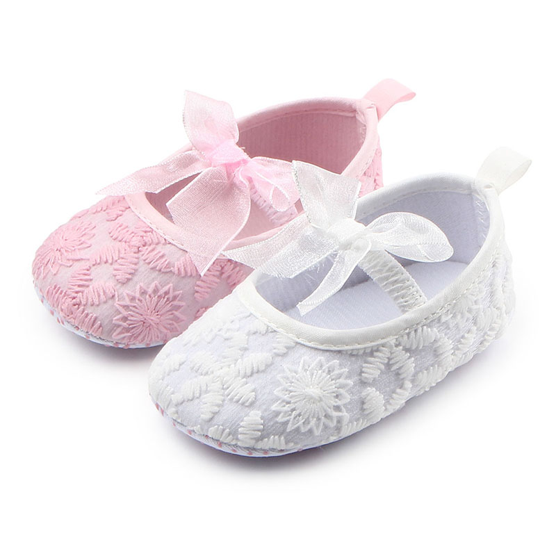 Baby Soft Sole Infant Flower Shoes Baby