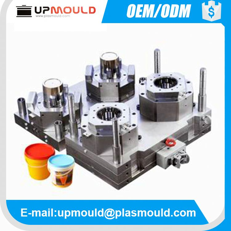 customization plastic bucket mould silicone mold