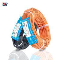 200 C High Temperature 10 12 14 16 18 20 22 AWG Gauge Flexible Soft Silicone Rubber Coated Stranded Tinned Copper Wire And Cable