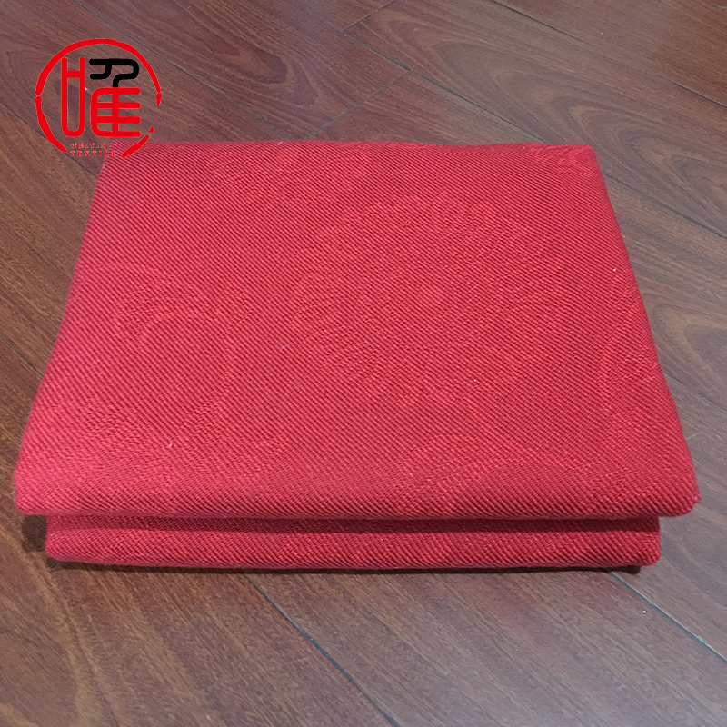 100% Acrylic Material and Woven Technics Modacrylic Flame Retardant Fiber Blanket Plain Dyed Acrylic Airline Blanket Throw