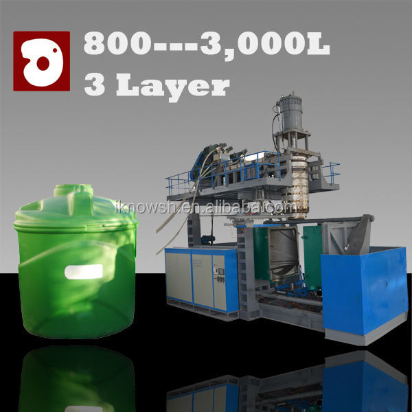 water tank plastic blow molding machine