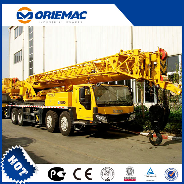 Kaofan Truck Cranes 70ton (QY70U) For sale with ce mark