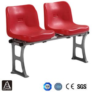 Football Field Chair, Plastic Injection Molded Stadium Seat, Plastic Stadium Seating for Gym, Arena, School