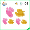 purple PVC/TPE dog supplies dog gloves for shower