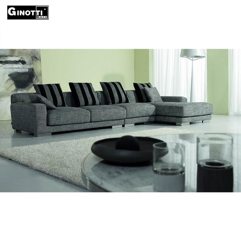New Italian Design L Shape Fabric Sofa Product On Alibaba