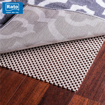 Hot Waterproof Rug Pad Non Slip Mat Roll With Pvc Backing