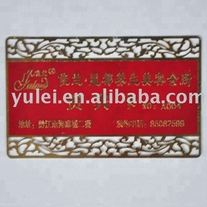 wedding invitation card/Wholesale Custom Cheap High Quality Engraved Metal Business Cards
