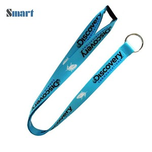 Quality police lanyard plain polyester phone neck strap With Discount