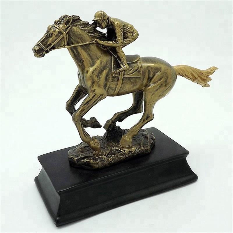 Golden Race Horse /& Jockey LAPEL PIN BADGE Rider Club Trainer Present Gift Box