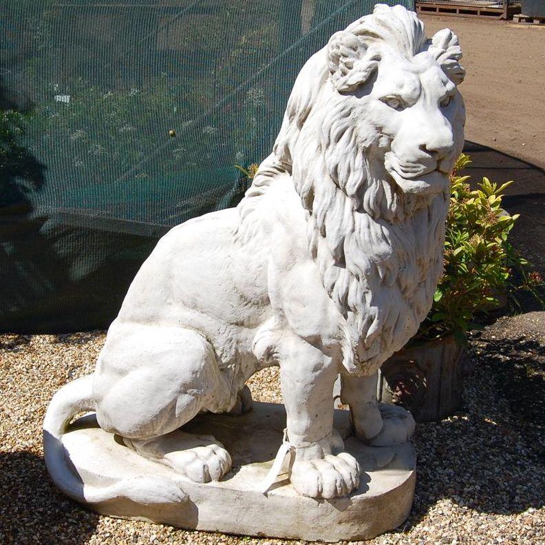 Superieur Garden Decoration Sitting Lion Statue For Sale   Buy Sitting Lion Statue, Garden Sitting Lion Statue,Garden Marble Lion Statue For Sale Product On  Alibaba. ...