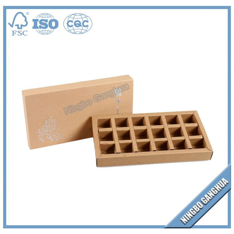 Wholesale Alibaba Recycled Paper Cardboard Cookie Gift Box Dividers Chocolate Box