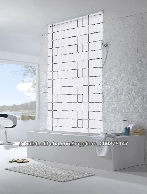 Genial cortinas para ventana de ba o galer a de im genes - Cortina para ventana de bano ...
