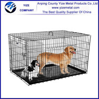 "18"",24"",30"",36"",42"",48"",Folding Metal Wire Pet Cage"