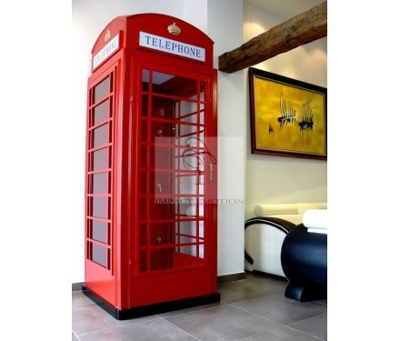 Europe Style London Telephone Booth For Decoration Hs B 13