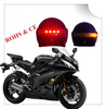 2013 new design LED wireless helmet Brake and turn signal transmitter for motorcycle light as helmet light