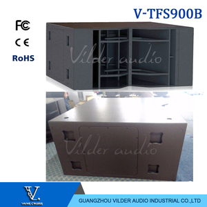 V-TFS900B Double 18'' Bass Woofer Speaker Big Power Subwoofer Professional Audio Sub Box Large Scale For Line Array