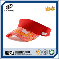 Summer sun visor cap open top hat with adjustable rubber band
