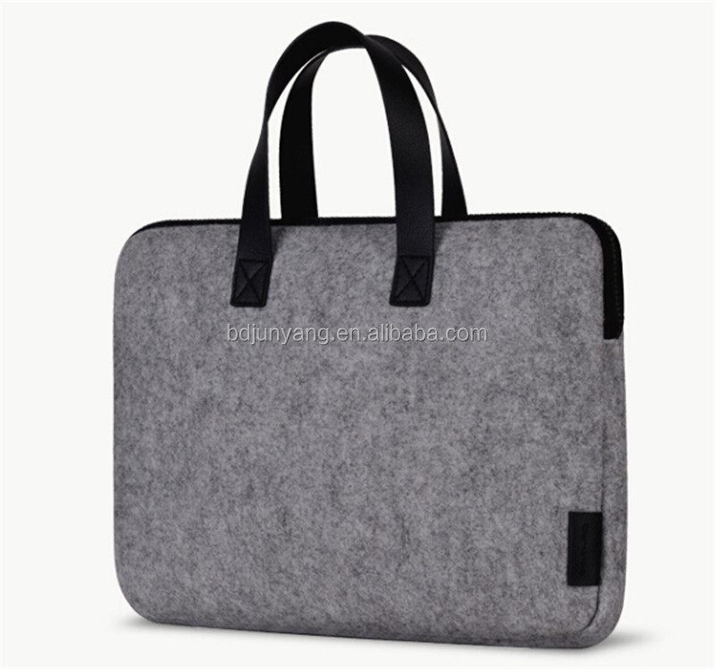 wool felt Laptop bag/notebook bag laptop with tote