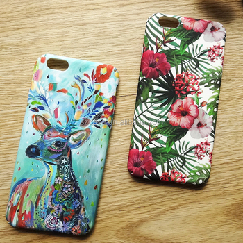 Tropical Rainforest Diy Custom Printing Hard Imd Iml Mobile Phone Case For Iphone 6 7 Cell Phone Cover Buy Hard Plastic Cell Phone Cases For