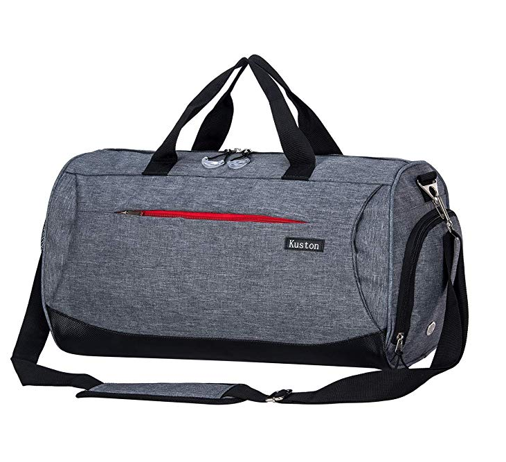2019 Grand Gris n Sport Sac De voyage Promotionnel
