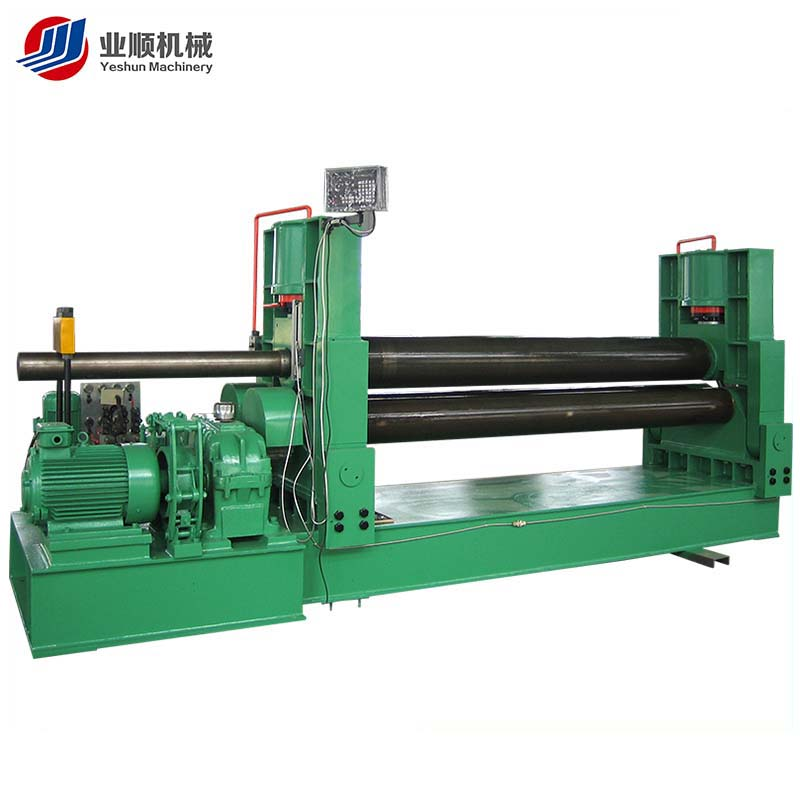 cheap safety cable 3 rollers hydraulic bending machines