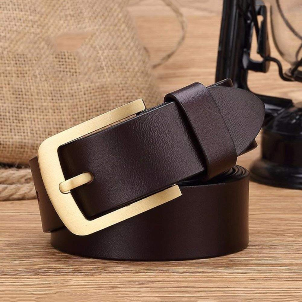 Slide Buckle Leather Belt,Wild Adjustable Belt,Casual Work Active Basic Leather,Cowboy Wear /& Work Clothes Uniforms Comfortable Soft Fashion XUEXUE Mens Belt