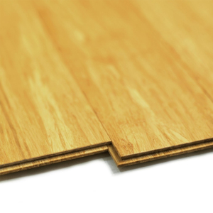 strand woven and solid bamboo floor tiles