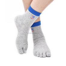 Custom top quality seamless polyester/cotton basketball running socks crew