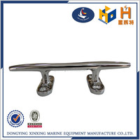stainless steel boat deck mooring cleat
