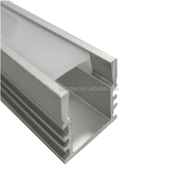 16mm wide aluminum profile U style LED aluminum profile