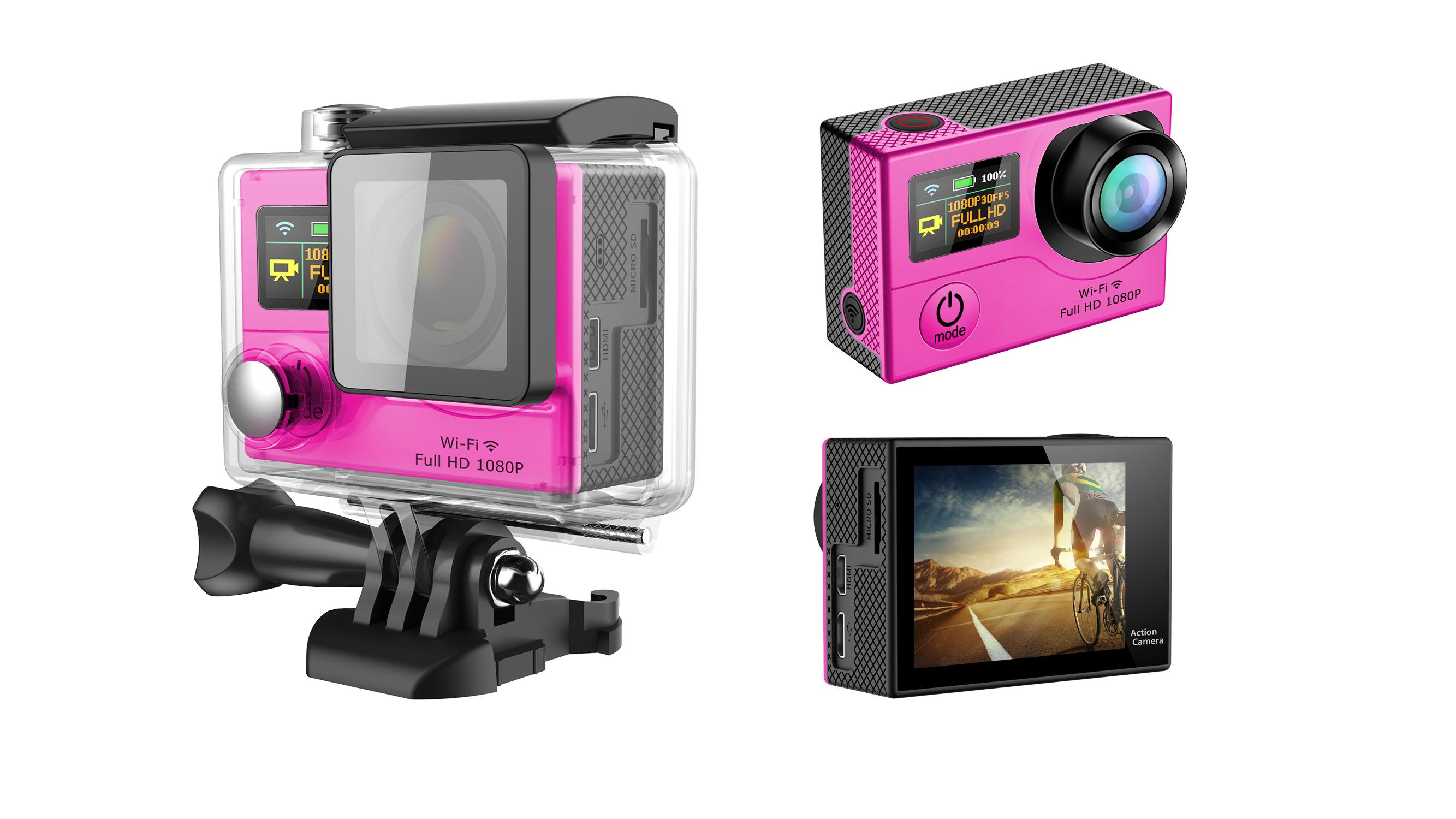 Amazon hot sell eken G3 4k action camera underwater 30m sport camera hidden camera