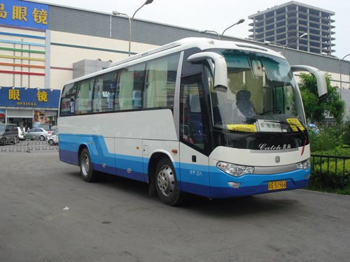 ZhongTong Bus LCK6118H 33 Seats Made in China Mini Bus For Hot Sale