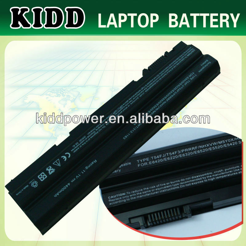 09K6P 0F7W7V 11HYV li-ion battery for Dell Latitude E6320 XFR E6330 E6430S laptop notebook bateries