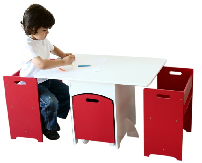 Red And White Used Kids Table And Chairs With Toy Storage Box   Buy Kids  Table And Chairs,Used Kids Table And Chairs,Toy Storage Box Product On  Alibaba.com