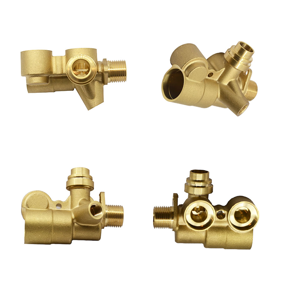 multi ways connect hydraulic hose joint air hose swivel female type brass fittings