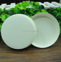 Hotel disposable blank paper cup lid paper glass cover