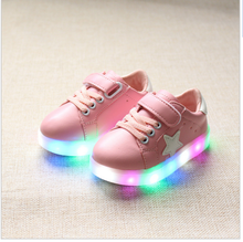 2017 new products china price kids led flash shoes luminous shoes fashion birthday party