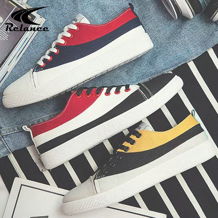 Casual Canvas Flat Thick Upper Bottom Sneakers Men Wholesale Shoes waO6AqSS