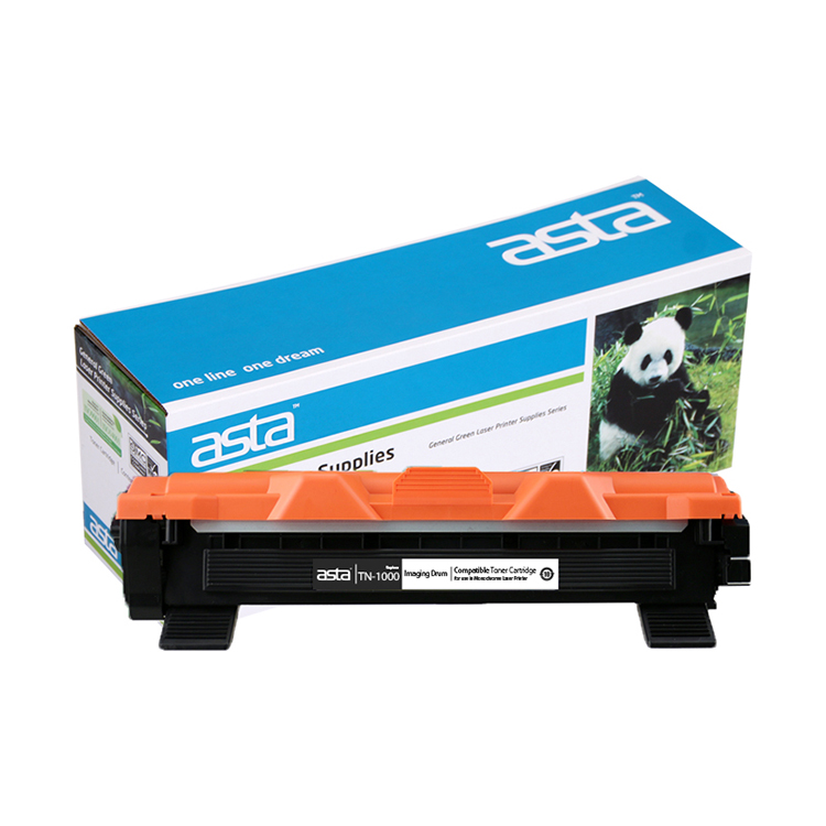 ASTA Laser jet toner cartridge Kompatibel untuk Brother TN-1000/1030/1040/1060/1070/1075 toner refill