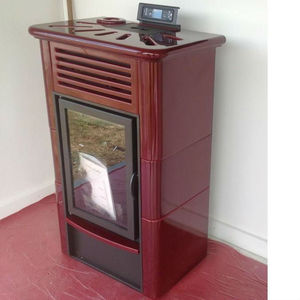 14 KW Smokeless automatic wood pellet stove
