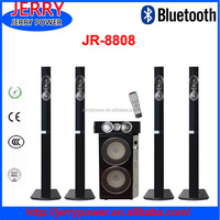 JERRY high quality mini hifi 5.1 Home Theater System With Big Power and usb and karaoke function